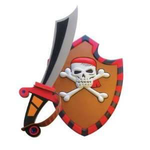 Pirate Foam Sword and Shield: Toys & Games