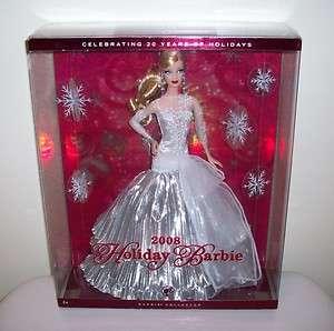 2008 Holiday Barbie Doll Collector Christmas Carol MIB