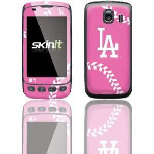 Skinit Los Angeles Dodgers Pink Game Ball Vinyl Skin for LG Optimus S