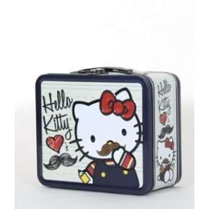 Sanrio Hello Kitty Mustache Lunch Box