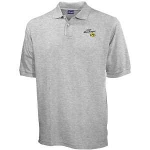 Iowa Hawkeyes Ash Blazer Logo Pique Polo: Sports
