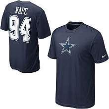 Nike Dallas Cowboys DeMarcus Ware Name & Number T Shirt
