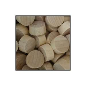 WidgetCo 1/2 Maple Wood Plugs, End Grain