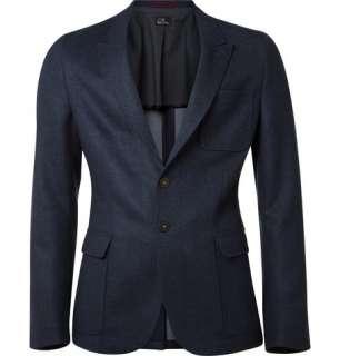 Clothing  Blazers  Single breasted  Classic Wool Blend Blazer