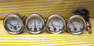 Oil Pr+ Fuel+Amp Gauge Set  WD45 Dsl, D15 Dsl, D17 Dsl, D19