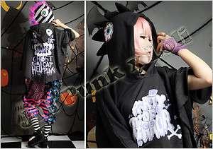 street punk Japan VISUAL Bubble Bobble Nostalgie eye ball hoodie