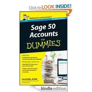 Sage 50 Accouns For Dummies® Jane Kelly  Kindle Sore