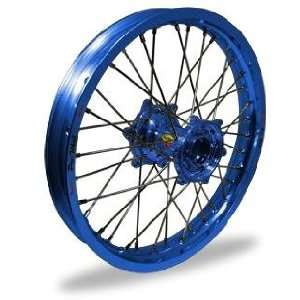 Pro Wheel Pro Wheel 1.85x19 MX Rear Wheel   Blue Rim/Blue Hub , Color