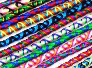 100 MIX SURF FRIENDSHIP BRACELETS   HANDWOWEN WHOLESALE