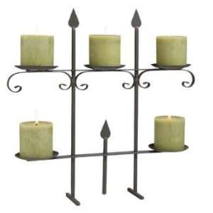 opean Wrought Iron Gate Design Tabletop 5 Space