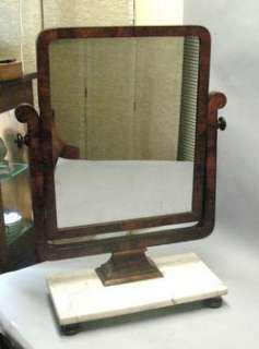 Fine French Art Deco Marble Top Dressing Mirror c. 1920