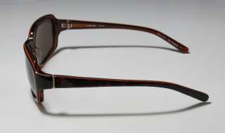 NEW LACOSTE 12627 HIP DARK HAVANA FRAME/TEMPLES BROWN LENSES