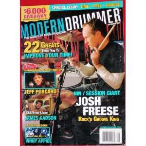 Modern Drummer Magazine September 2007 Modern Drummer Books