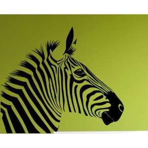 Zebra Wall Decor Vinyl Art