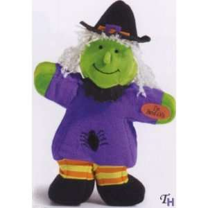 Russ Berrie Bendzy Plush Halloween Witch Doll Toys