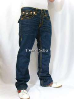 TRUE RELIGION Jeans Mens Ricky Vintage GOLD Super T