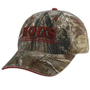 The Game Arkansas Razorbacks Camo 3D Bar Hat  Sports