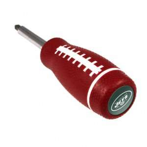 New York Jets Pro Grip Screwdriver Sports & Outdoors
