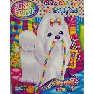 Lisa Frank Giant Coloring & Activity Book ~ Fun with