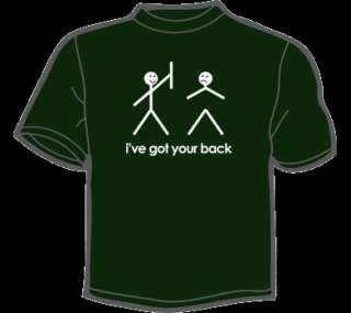 VE GOT YOUR BACK T Shirt WOMENS funny vintage cute