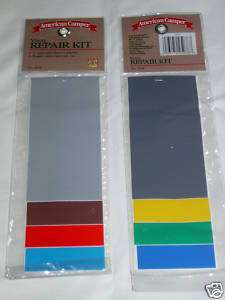 Vinyl Repair Kit Tent Rainwear Floats Waterbed Easy New