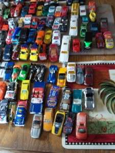 225 Die Cast Metal Car Lot Hot Wheels Matchbox Road Champs Racing