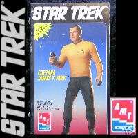 Star Trek Captain James T. Kirk Vinyl Model Kit AMT