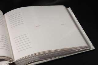 White Flower Wedding Albums 200 Photo 5x7 size