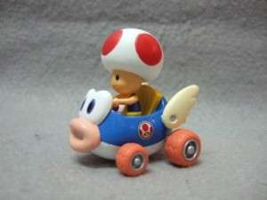 Japan Wii Mario Kart 3 Pull Back Car Toad on CHEEP