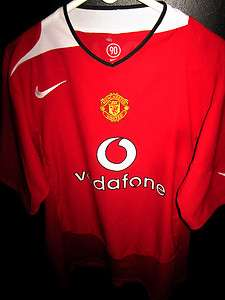 VTG #8 WAYNE ROONEY MANCHESTER MAN U ENGLAND JERSEY UK SHIRT RARE TOP