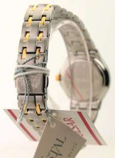 PXT606 Womens Pulsar Steel Two Tone Crystal New Watch