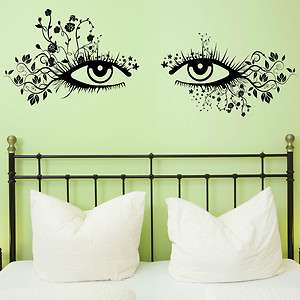 Eyes Wall Sticker Transfer Decal Huge Kids Bedroom Bathroom Car