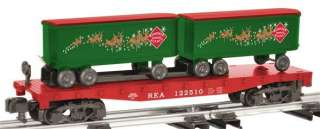 AMERICAN FLYER SILVER AND GOLD FLAT CAR 6 48563