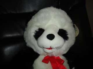 Giant Panda Bear Stuffed Plush 22 inch Open Mouth