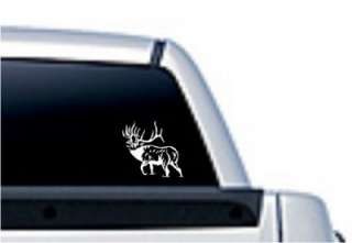 Elk Hunting Die Cut Vinyl Decal Sticker 18001