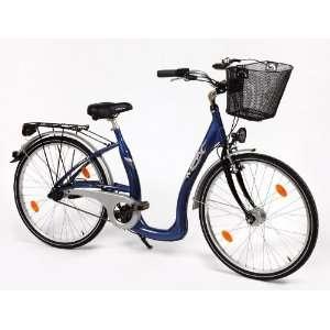 City Fahrrad Tiefeinsteiger Aluminium 26 Zoll Damen  Sport