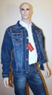 True Religion Jeans Jacket, Section  Joey (men) blue