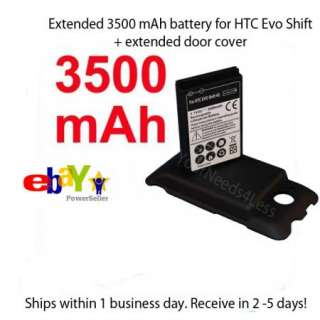 3500mAh Extended battery For Sprint HTC EVO SHIFT