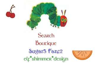 Sugar3 Faze2 Boutique Custom Hungry Caterpillar Girl