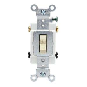 Leviton 20 Amp Double Pole Commercial Switch R51 0CSB2 2IS at The Home