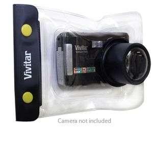 Vivitar VIV WC 40 Waterproof Camera Case   Black Lens
