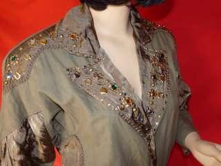 80er 80s Vintage Damen Romper Jumpsuit Overall 38 NERD