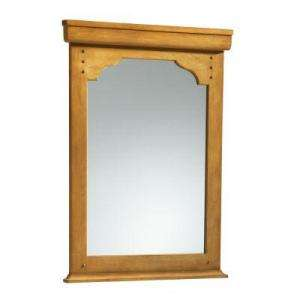 KOHLER Ballard 36 In. X 26 In. Framed Wall Mirror in Alder Nutmeg K