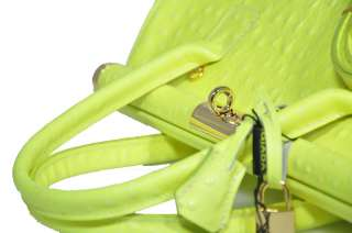 Bolso de cuero genuino italiano con bandolera