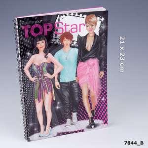 TOPModel Malbuch Create your TopStar Depesche Top Model
