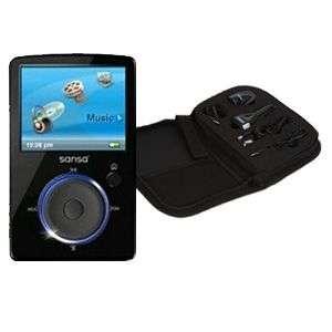 SanDisk Sansa Fuze 4GB /4 Player w/ Travel Kit 890552620814
