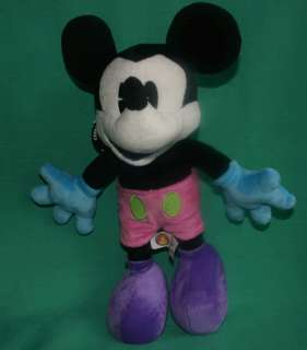 DISNEY MICKEY MOUSE 12 ARTICULATED PLUSH TOY MICKEY POSEABLE BENDABLE