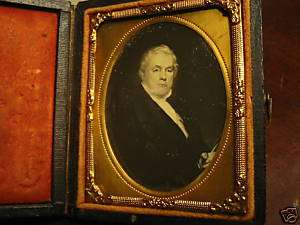 rare original daguerreotype president James Buchanan