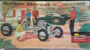 Monogram Green Hornet Plastic Model Car Kit 1/24 Scale