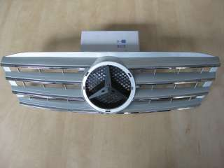 Mercedes Benz W203 Kühlergrill Grill CL Look Silber